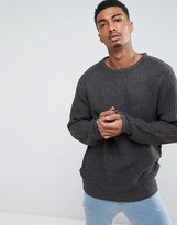 Brave Soul Cable Knit Sweater