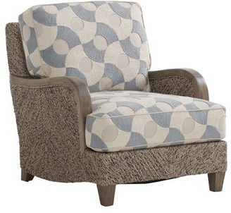 Barclay Butera Thayer Chair Upholstery: Cream