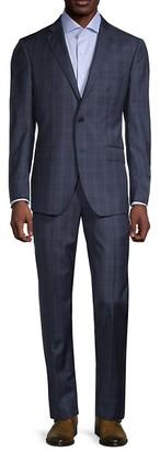 Saks Fifth Avenue Traveller Modern-Fit Wool Suit