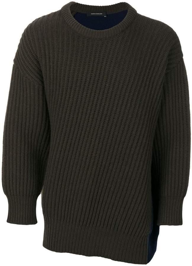Cédric Charlier colour-block sweater