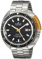 Edox Men's 80301 3NOM NIN Hydro Sub Analog Display Swiss Automatic Silver Watch