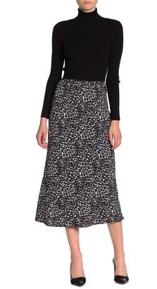 Angie Printed Midi Skirt