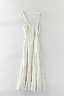 Cleobella Zadia Eyelet Midi Dress