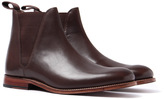 Grenson Nolan Burnt Pine Leather Chelsea Boots