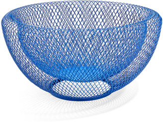Moma Wire Mesh Bowl, Blue
