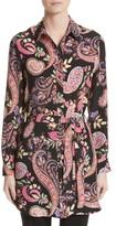 Etro Women's Floral Paisley Print Silk Tunic