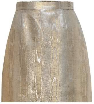 Racil Gina moire miniskirt