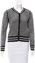 Jonathan Simkhai Two-Tone Knit Cardigan