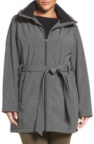 Steve Madden Plus Size Women's Hooded Parka