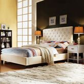 Homevance darla 5-pc. queen headboard, footboard, frame & nightstand set