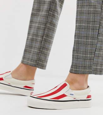 Vans Slip-On 98 DX Anaheim red stripe trainers