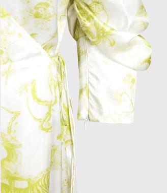 AllSaints Tage Riyaz Silk Blend Dress