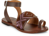 Free People Torrence Leather Toe-Ring Sandals