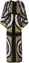 MSGM floral print shift dresss - women - Silk - 40