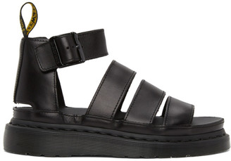 Dr. Martens Black Clarissa II Sandals
