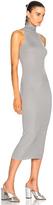 Enza Costa Turtleneck Sleeveless Dress
