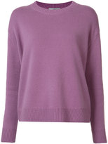 Vince cashmere ribbed trim jumper - women - Cashmere - M