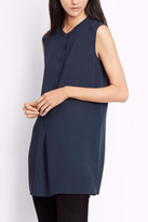 Vince Sleeveless Split Side Tunic