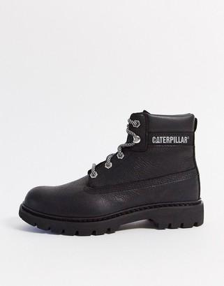 CAT Footwear CAT leather hiker boots in black