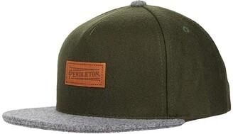 Pendleton Wool Mixed Hat (Rainforest/Grey) Caps
