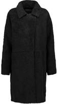 Rag & Bone Misty suede-trimmed shearling coat