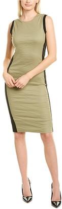 Nicole Miller Colorblocked Sheath Dress
