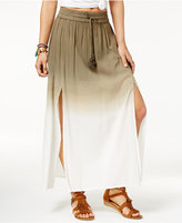 American Rag Printed Double-Slit Maxi Skirt, Only at Macy's