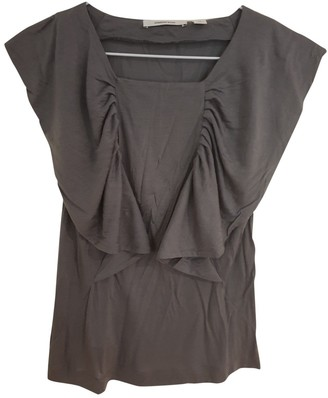 Country Road Grey Cotton Top for Women