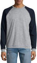 Rag & Bone Standard Issue Colorblock Raglan-Sleeve Baseball Shirt