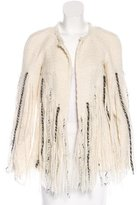 Chanel Embellished Fringe Jacket