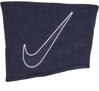 Nike Fleece Neck Warmer Obsidian/White