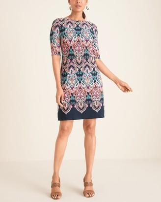 Brinker & Eliza Medallion-Print Shift Dress
