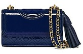 Tory Burch Fleming Patent Micro Shoulder Bag