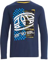 Animal Boys' Board Print Long Sleeve T-Shirt