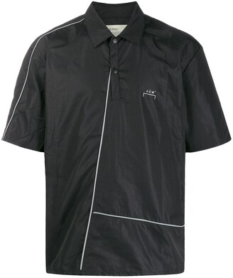 A-Cold-Wall* Diagonal-Piping Polo Shirt