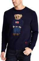 Polo Ralph Lauren Big and Tall The Iconic Polo Bear Sweater