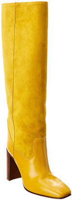 Rag & Bone Aslen Leather & Suede Tall Boot