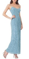 JS Collections Women's Beaded Slipdress