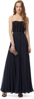 Rebecca Taylor Silk and Lace Gown