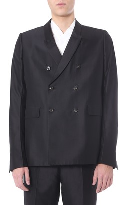 Rick Owens Double-Breasted Jacket