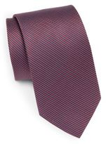 Saint Laurent Textured Silk Tie