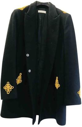 Nicole Farhi Black Wool Coat for Women