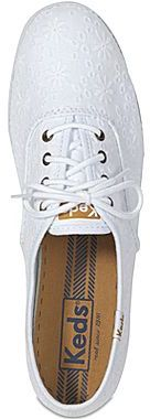 Keds Lace-Up Eyelet Sneakers
