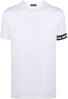 DSQUARED2 logo tape detail T-shirt