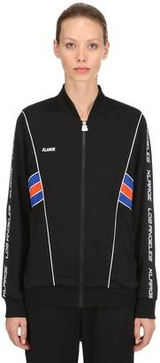 XLarge Oversized Taped Cotton Track Jacket