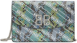 Balenciaga BB wallet with chain strap