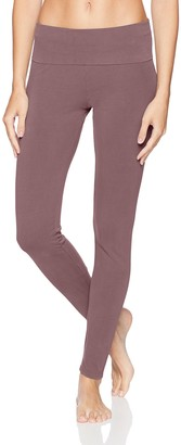 PJ Harlow Women's Rock Cotton-Fold Over Leggings