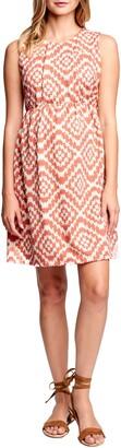 Maternal America Textured Maternity Dress