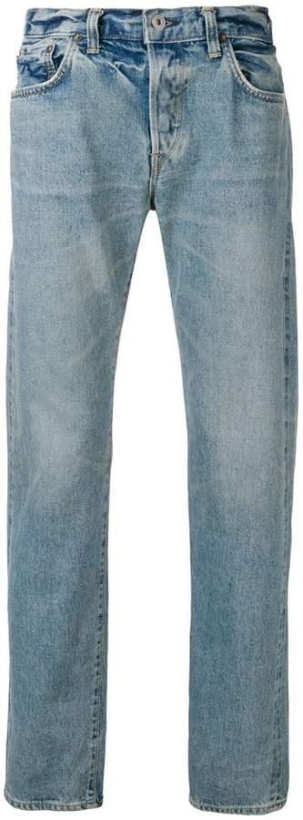 Edwin washed straight leg jeans