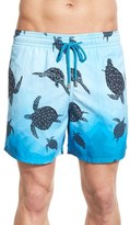 Vilebrequin Men's 'Moorea - 3D Turtles' Swim Trunks